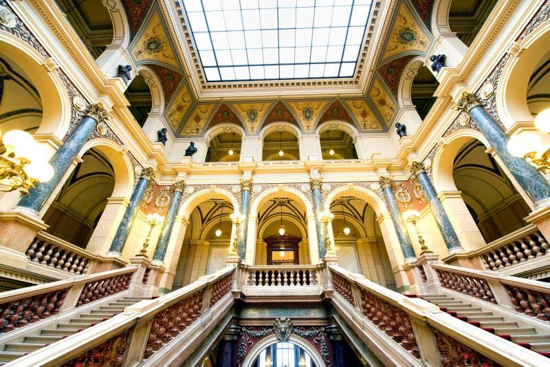 Museu Nacional, Praga fotografia de stock royalty free