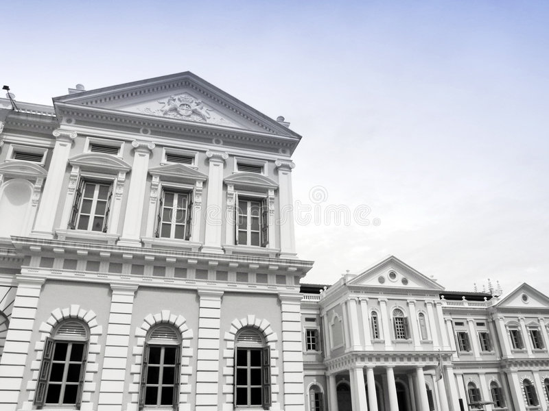 Museu Nacional Singapore fotografia de stock royalty free