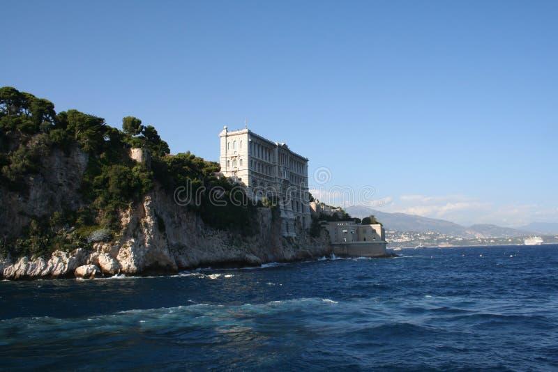 Museu oceanográfico, principado de Mônaco (23 de agosto de 2014) imagens de stock