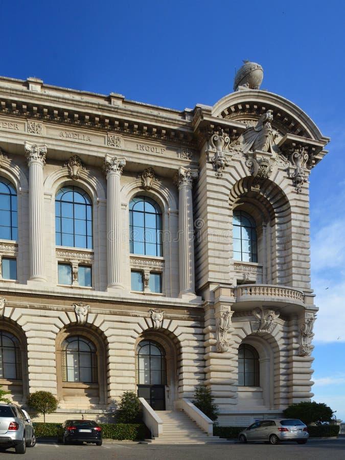 Museu Oceanographic em Monaco imagem de stock