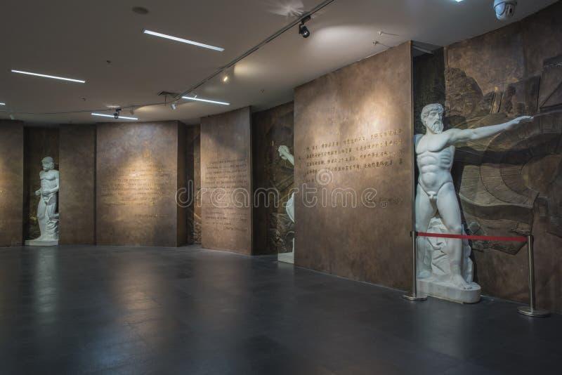 Museu olímpico da juventude de Nanjing fotografia de stock royalty free