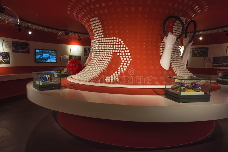 Museu olímpico da juventude de Nanjing imagem de stock