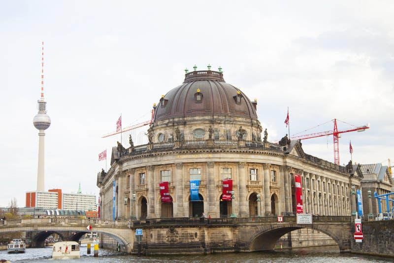 Museu prognosticado em Berlim fotografia de stock royalty free