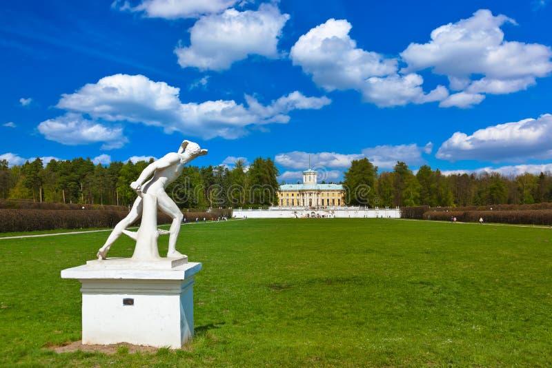 Museu-propriedade Arkhangelskoye - Moscou Rússia fotografia de stock royalty free