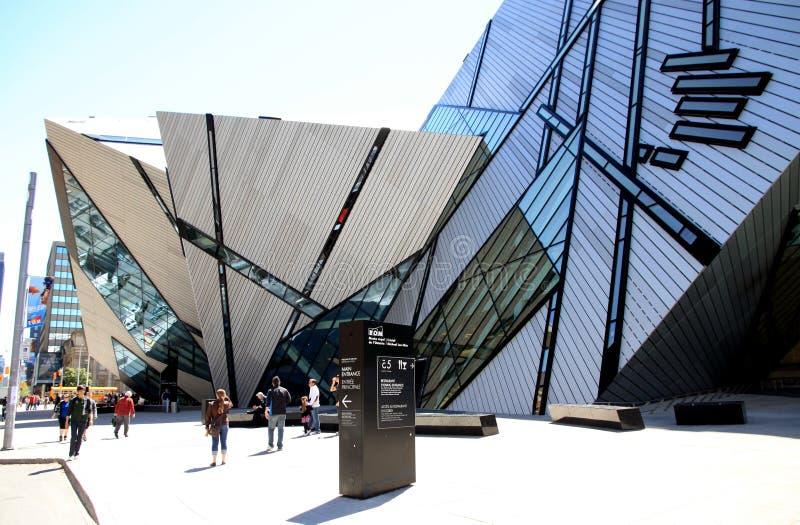 Museu real de Ontário imagens de stock