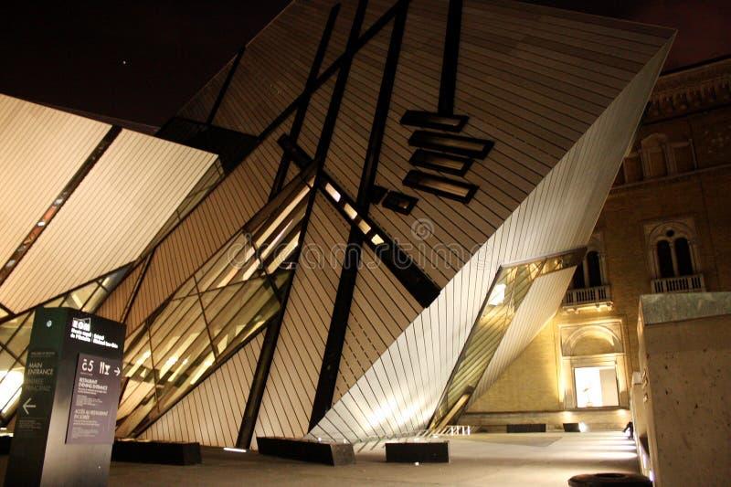 Museu real de Ontário foto de stock royalty free