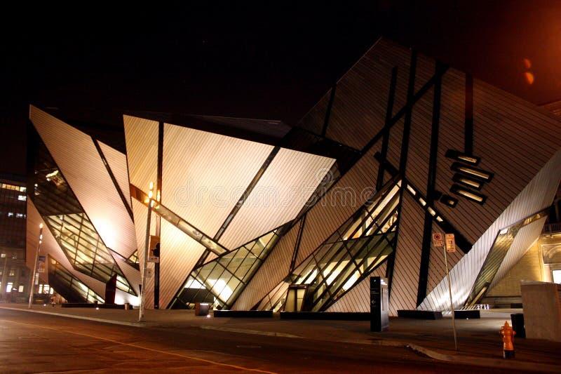 Museu real de Ontário fotografia de stock