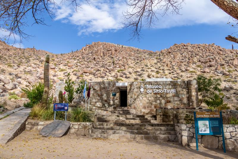 Museu regional de Tastil - Santa Rosa de Tastil, Salta, Argentina foto de stock royalty free