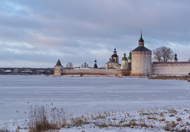 Museu-reserva de Kirillo-Belozerski foto de stock