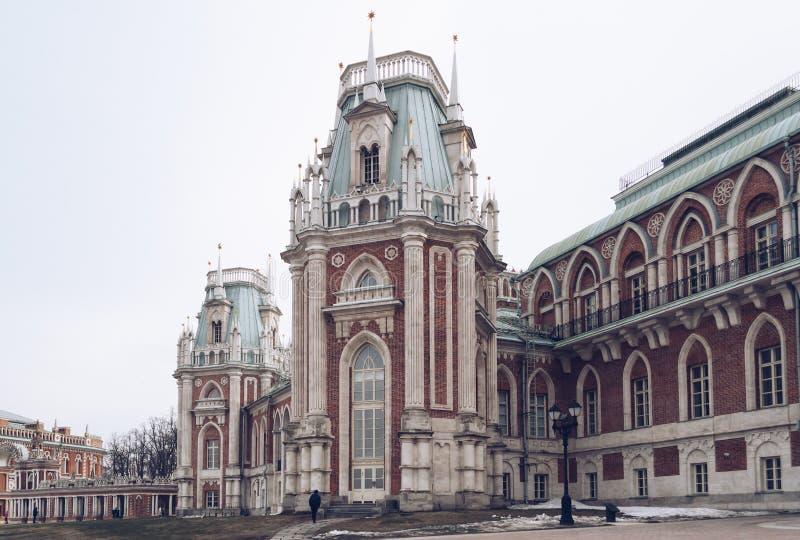 Museu-reserva de Tsaritsyno em Moscou foto de stock