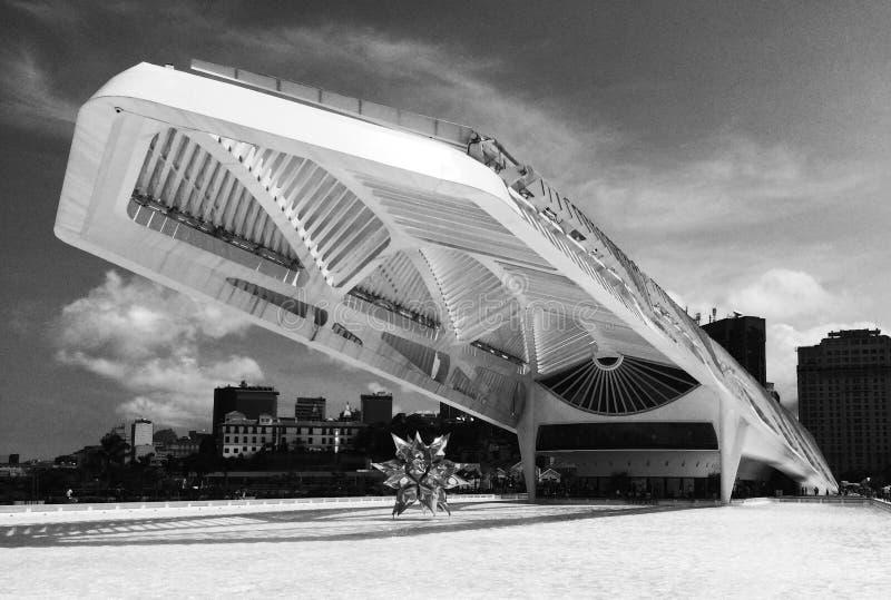 Museu robi Amanhã fotografia royalty free