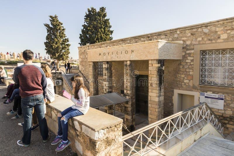 Museu velho da acr?pole, Atenas imagens de stock royalty free
