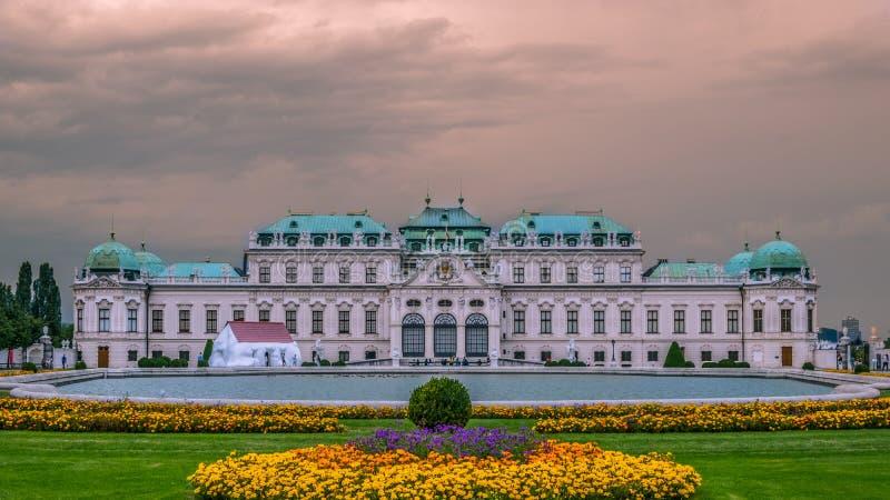 Museu Viena do Belvedere imagens de stock royalty free