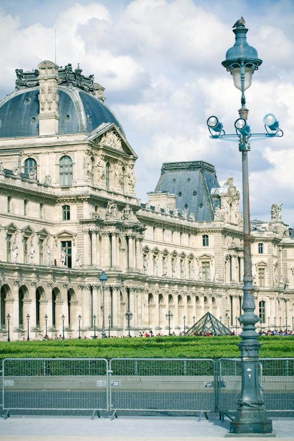 Download Museum stock photo. Image of louvre, alight, blue, close - 14961102
