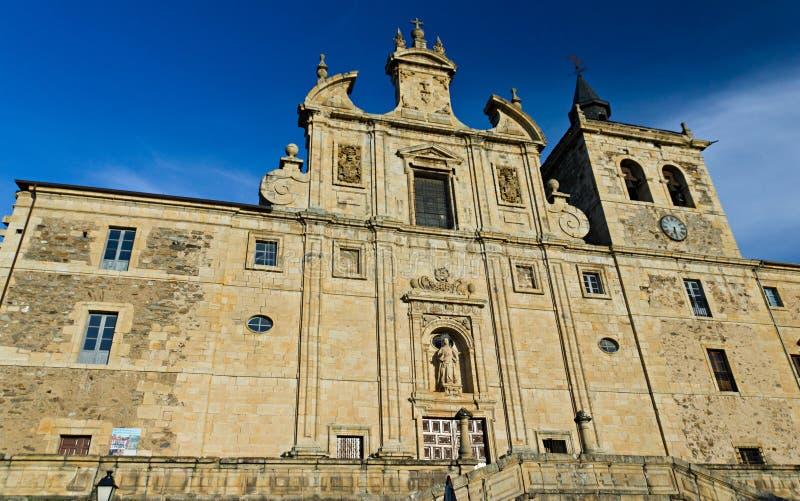 Download Museum stock image. Image of baroque, blue, facade, bierzo - 24059961