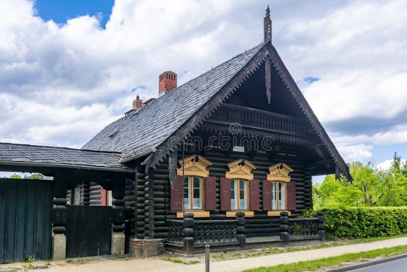 Museum Alexandrowka Russian colony in Potsdam, Germany royalty free stock photography