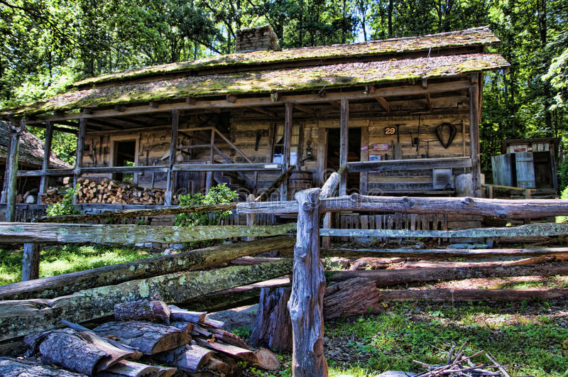 The Museum of Appalachia, Clinton, Tennesee, USA royalty free stock photo