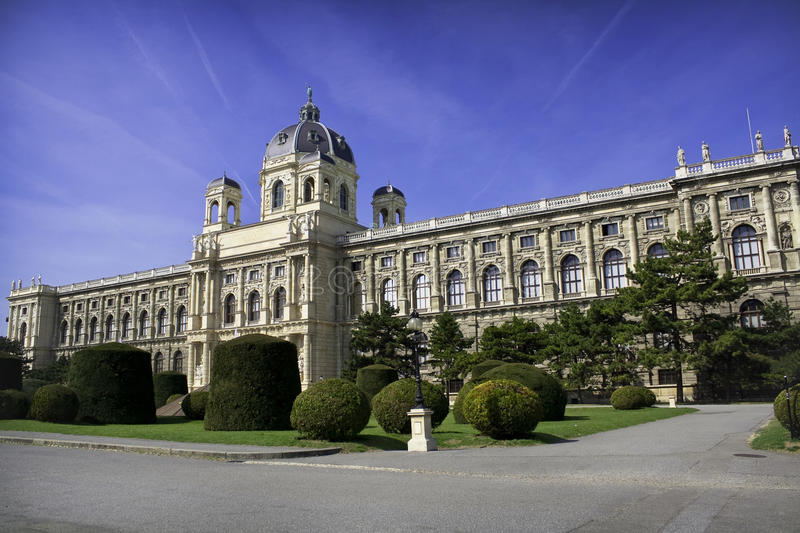 Museum of Art History. Vienna (Austria) - Building of nature museum royalty free stock photography