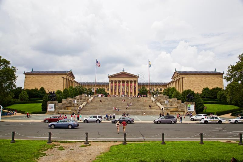Museum of art, philadelphia USA stock photos