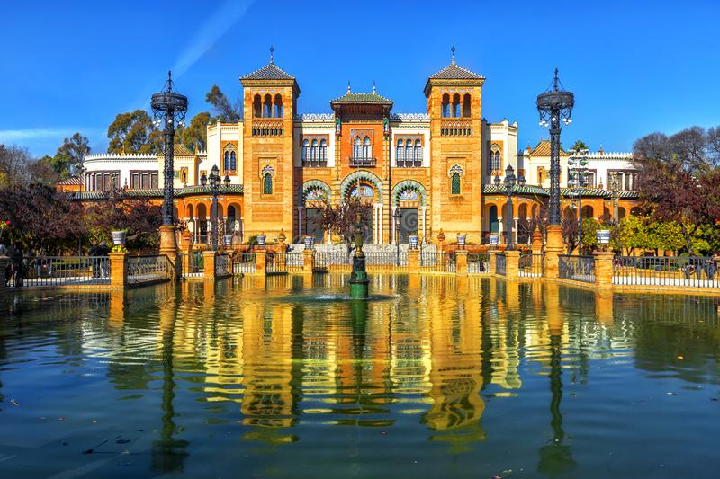 Museum of Arts and Traditions, Sevilla. Spain stock photo