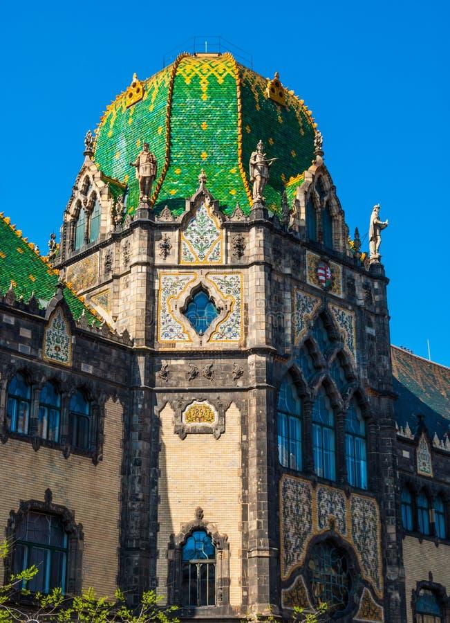 Museum av Applied konst, Budapest arkivbilder