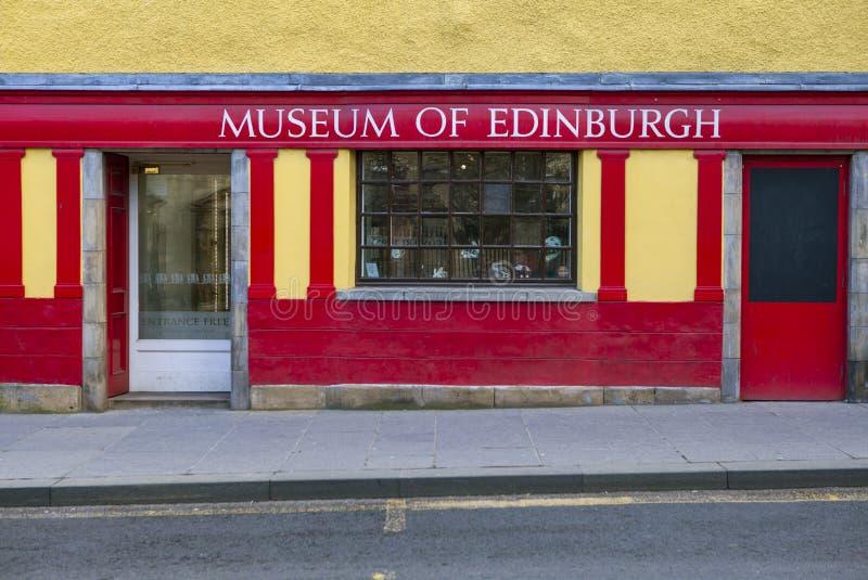 Museum av Edinburgh royaltyfri foto