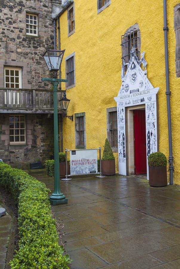 Museum av Edinburgh arkivfoto