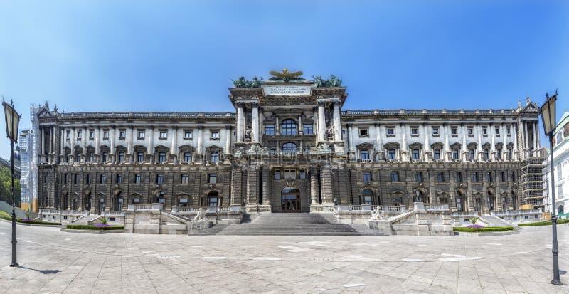 Museum av etnologi i Burggarten Österrike vienna royaltyfria bilder