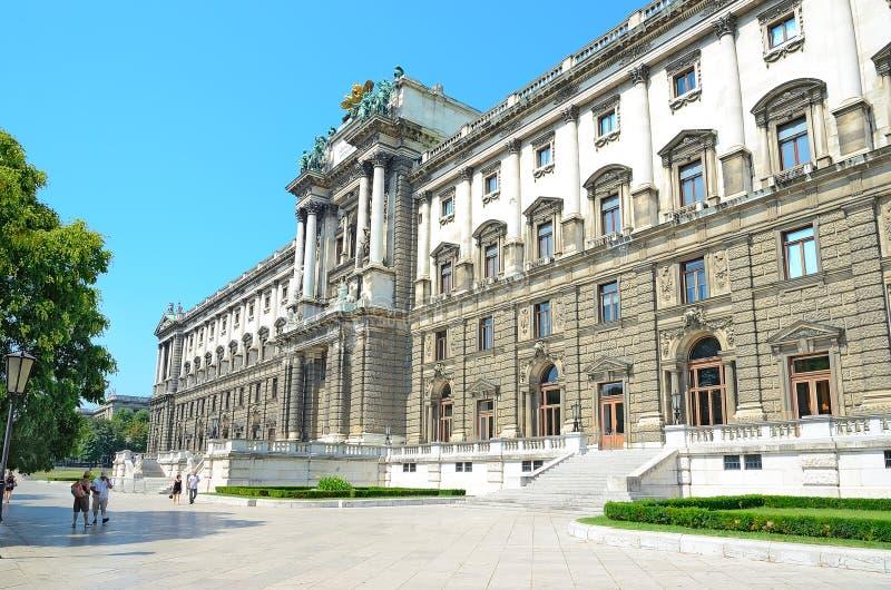 Museum av etnologi i Wien, Österrike. royaltyfri fotografi