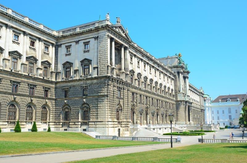 Museum av etnologi i Wien, Österrike. arkivbild