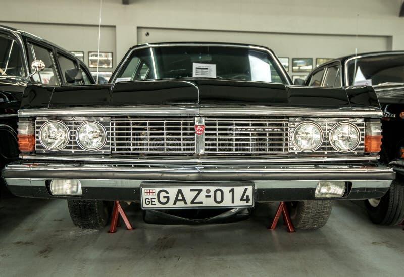 Museum av gamla sovjetiska bilar royaltyfria foton