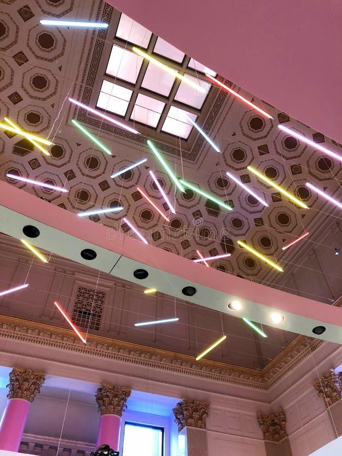 Museum av glassstänk arkivfoton