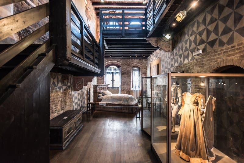 Museum av Juliet i Verona royaltyfri foto