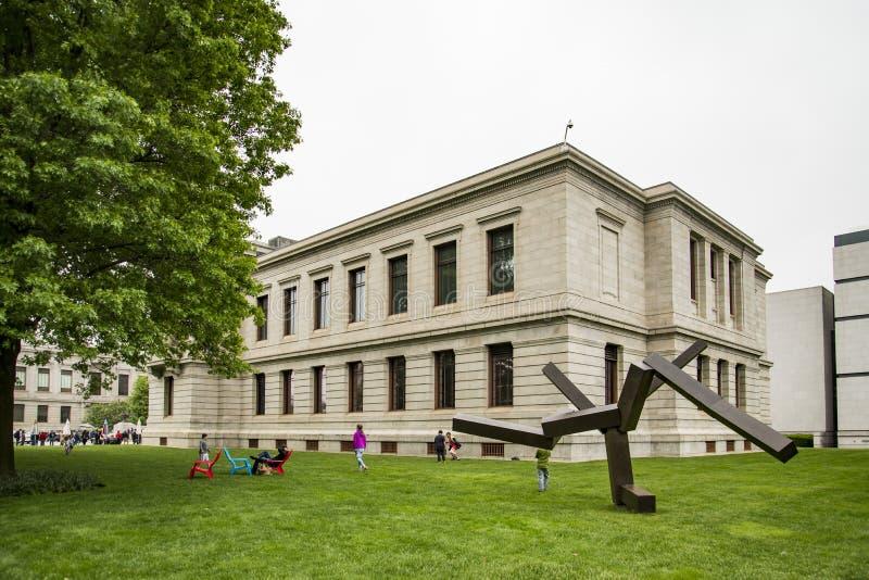Museum av konst i Boston, Massachusetts royaltyfri foto