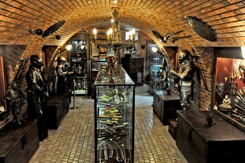 Museum av kriget i Porto de Galinhas royaltyfri fotografi