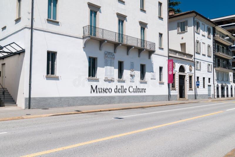 Museum av kultur för kulturMuseo delle arkivbild