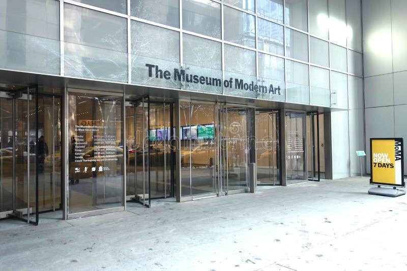 Museum av modern konst royaltyfri foto