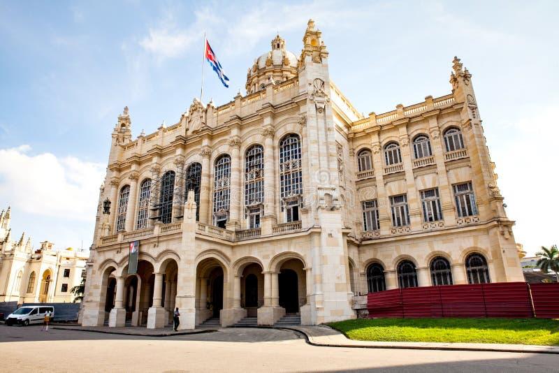 Museum av revolutionen, Havana Cuba royaltyfria bilder