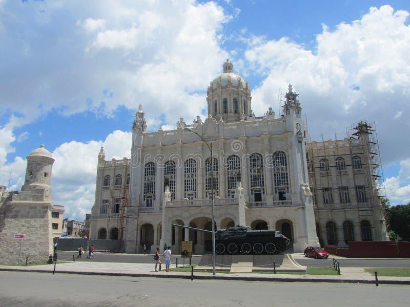 Museum av revolutionen, havannacigarr, Kuba fotografering för bildbyråer
