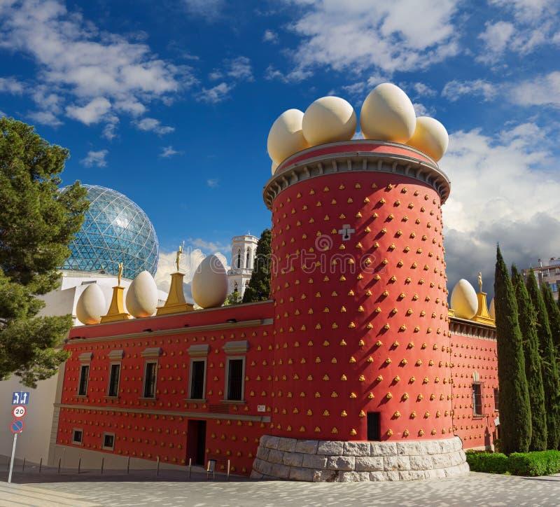 Museum av Salvador Dali royaltyfri foto