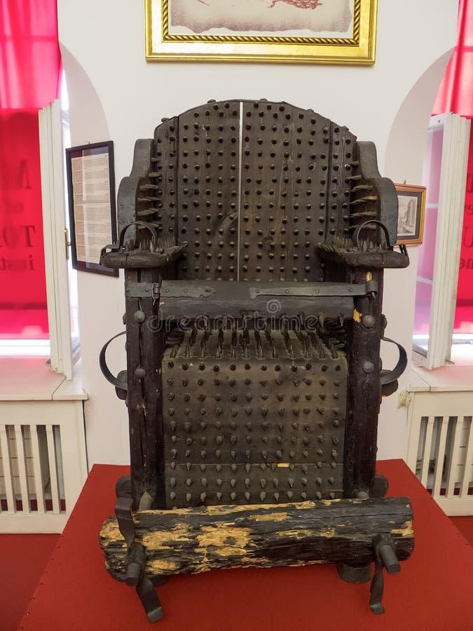 Museum av tortyr, Prague arkivfoto