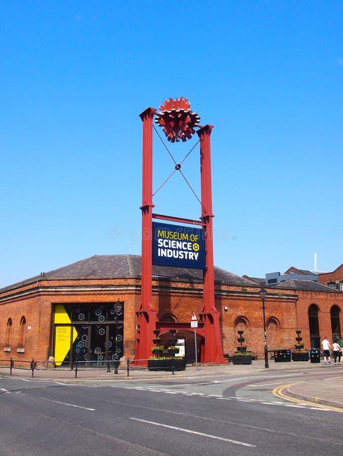 Museum av vetenskap och bransch, Manchester royaltyfri foto