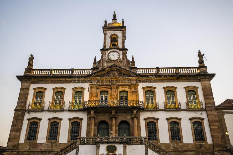 Museum of Betrayal, Ouro Preto, Minas Gerais, Brazil royalty free stock photography