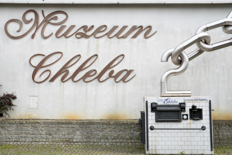 Museum of Bread, Poland. Museum of Bread in Radzionkow, Poland stock photo
