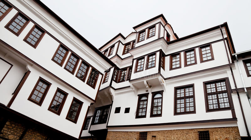 Download Museum building in ohrid stock photo. Image of habitat - 11341320