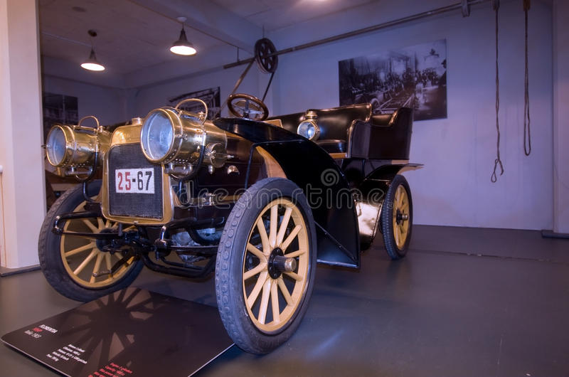Museum of Cars royalty free stock photos