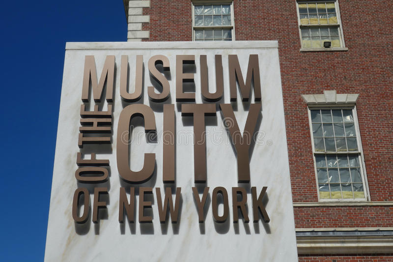 Museum of the City of New York royalty free stock photos