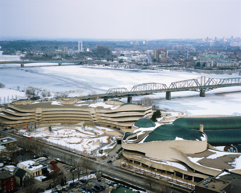 Download Museum Of Civilization, Gatineau Royalty Free Stock Photography - Image: 18889547