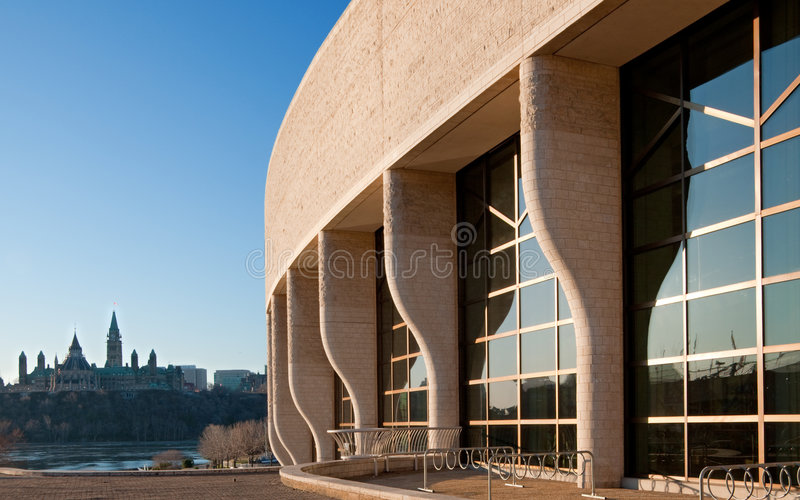 Download Museum Of Civilization And Parliament Hill Editorial Stock Photo - Image: 9032053