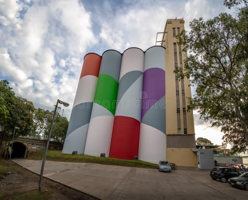 Museum of Contemporary Art of Rosario MACRo - Rosario, Santa Fe, Argentina. Rosario, Argentina - May 18, 2018: Museum of Contemporary Art of Rosario MACRo stock photos
